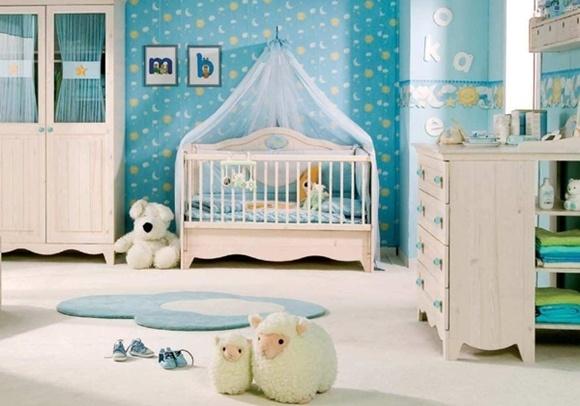 Camera copilului patut bebelus