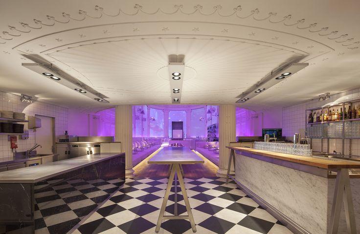New Supperclub Amsterdam by Concrete l Innsides #interiordesign