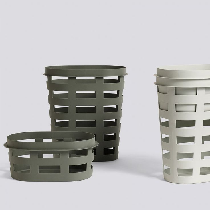 Designstuff offers a wide online selection of Scandinavian Laundry Baskets, including this simplistic laundry basket by Hay.