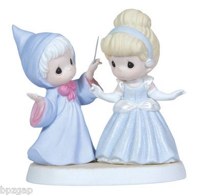 Precious Moments Disney Cinderella Fairy Godmother You'll Always Be A Princess | eBay