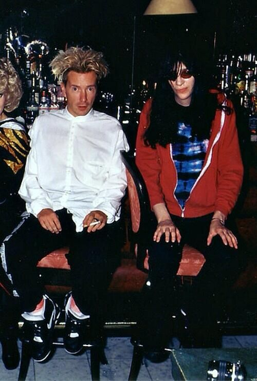 John Lydon and Joey Ramone