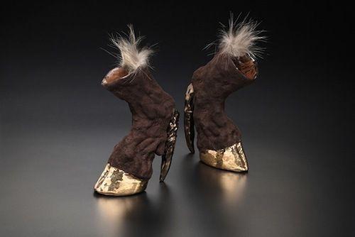 Zapatos raros.