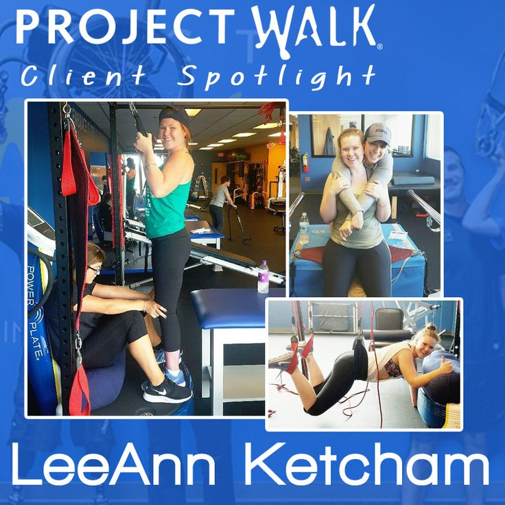 "In December of 2010 LeeAnn suffered a T11 spinal cord injury due to a horrific snowboarding accident. Recently her body has really begun to ""wake-up"" and she is seeing increased ability during her sessions. She stands and walks everyday with assistance and her overall strength continues to increase. LeeAnn is a great ambassador for Project Walk as she brings the best out in everyone and is consistently encouraging other clients to do their best. She is this month's Client Spotlight in…"