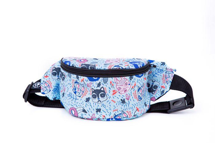 #bumbagr #funnybag #bag #bumbag #pattern #cats #artist #alinabohoru
