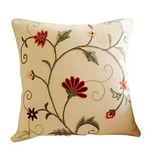 Enveloppe de coussin / taie d'oreiller floral VII