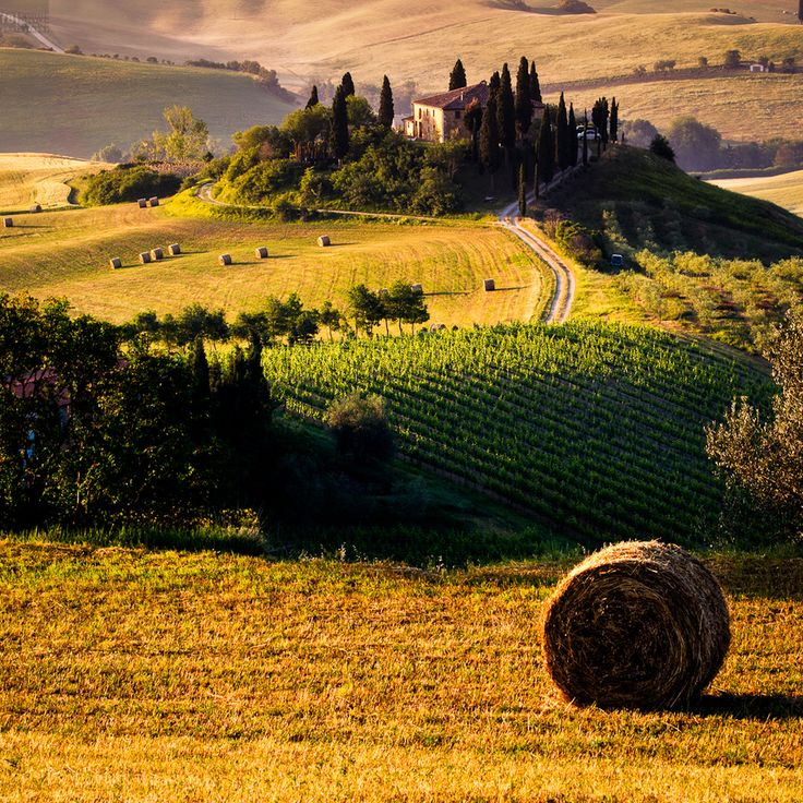 Beautiful farmhouse in Val d'Orcia, Tuscany, Italy