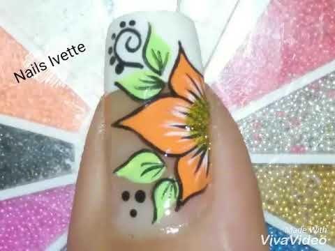 Diseño de flor fácil de hacer - YouTube