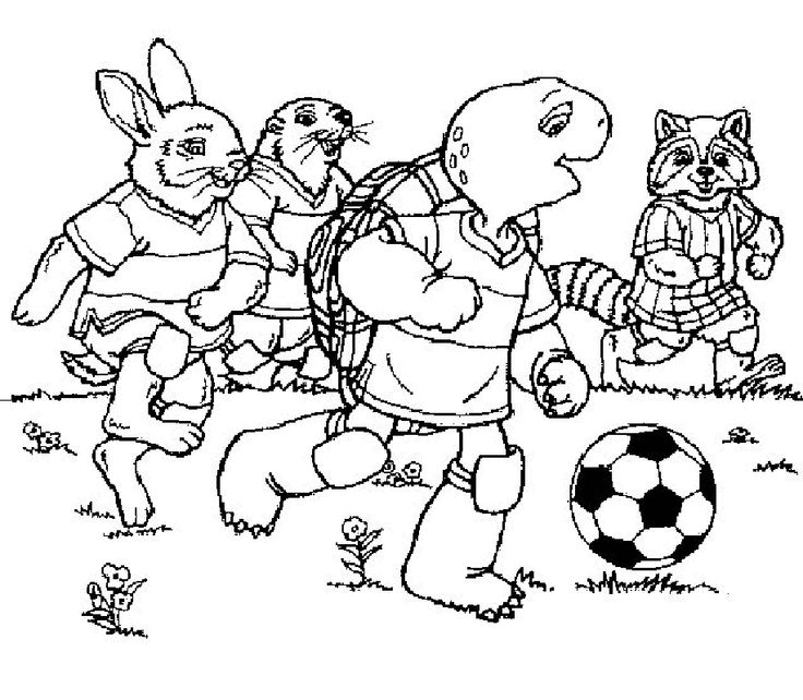 franklin the turtle coloring pages - photo#16