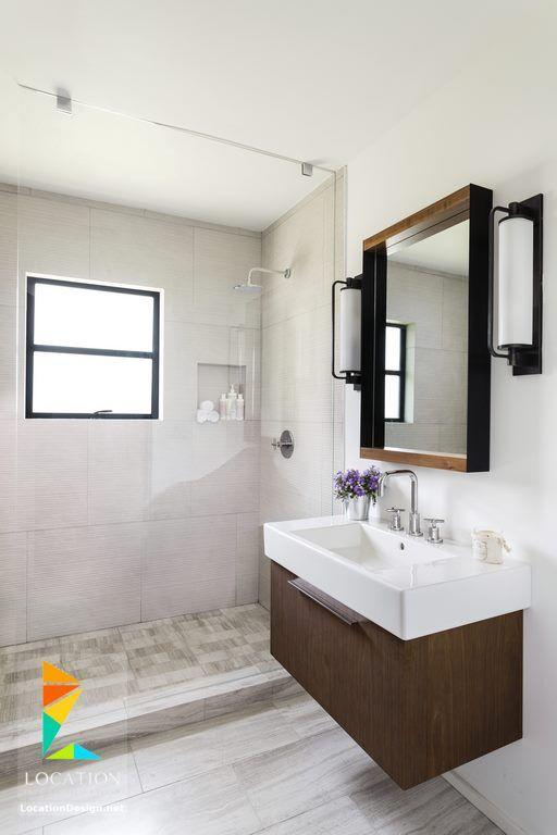 ديكورات حمامات صغيرة المساحة 50 تصميم حمامات مودرن بأفكار رائعة جدا Inexpensive Bathroom Remodel Budget Bathroom Remodel Bathroom Design Small