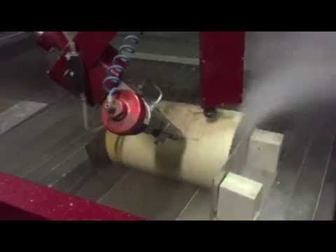 Waterjet Kevlar Tube Cutting for Energy Industry by Waterjet Corporation