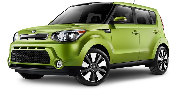 The 2015 Kia Soul Alian Green with the lowest gas mileage and most options. Love this car. Gonna get me one. :)