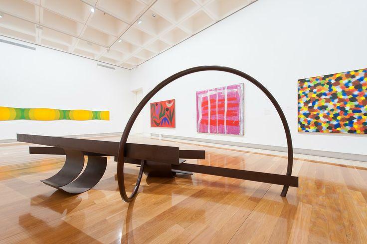 Queensland Art Gallery (QAG) in South Brisbane, QLD