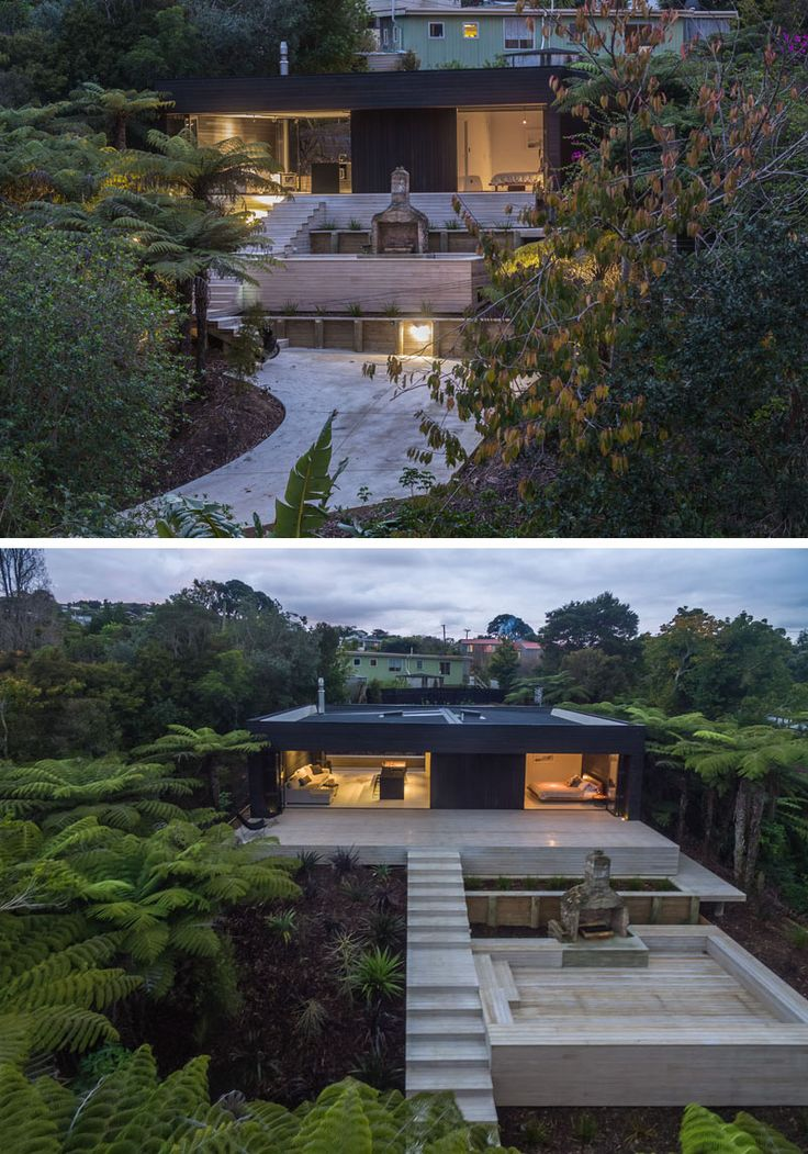 93 best images about new zealand architecture on pinterest for Holiday home designs new zealand