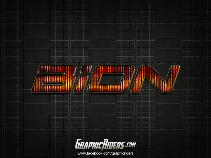 GraphicRiders | Sci-fi style – Bion (free photoshop style, text effect, free psd file) #graphicriders