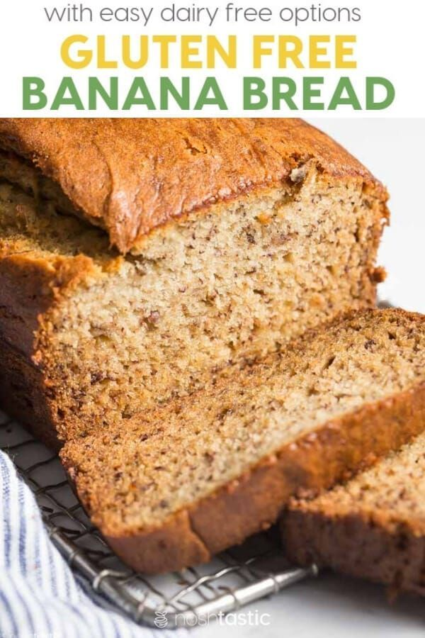 Easy Gluten Free Banana Bread Recipe Use Up Those Ripe Bananas And Gluten Free Banana Bread Easy Dairy Free Banana Bread Best Gluten Free Banana Bread Recipe
