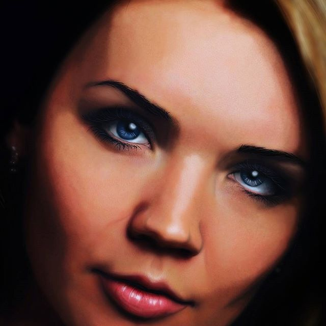 цифровой портрет  #photoshop #portrait #digitalportrait #girl #beutiful #artwork #artofday #artstagram #любимоедело #face #eyes #mouth #lips #hair #paint #creative #искусство #творчество #творческийпроцесс #инстаарт #картина #color #colour #beauty #amazing #creative #beautiful #hdr #awesome_hdr #hdrimage #hdrart