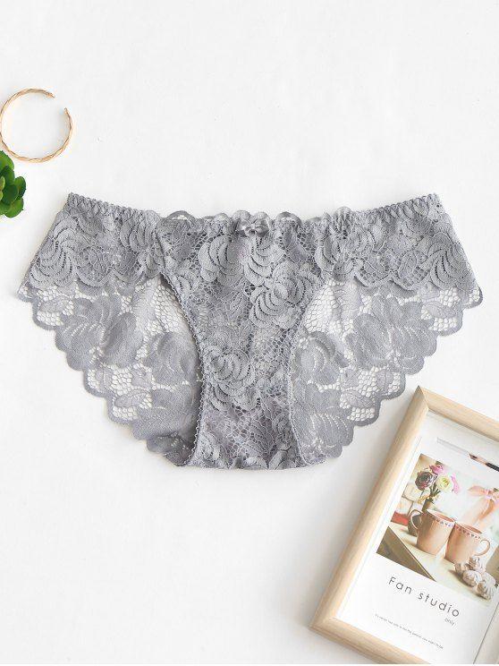 Lolita Panties Girls Women Cute Briefs Lace Cotton Crotch Knickers Bow E1