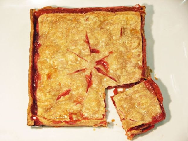 Moveable Feasts: Strawberry Slab Pie