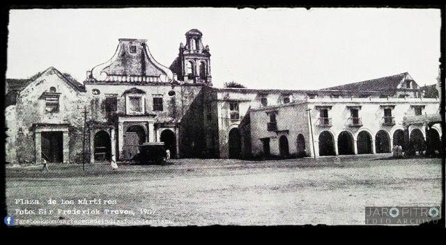 Cartagena de Indias 1956. Claustro de San Francisco. #historia #history #getsemani  #patrimoniohistoricodelahumanidad #cartagenadeindias #colombia