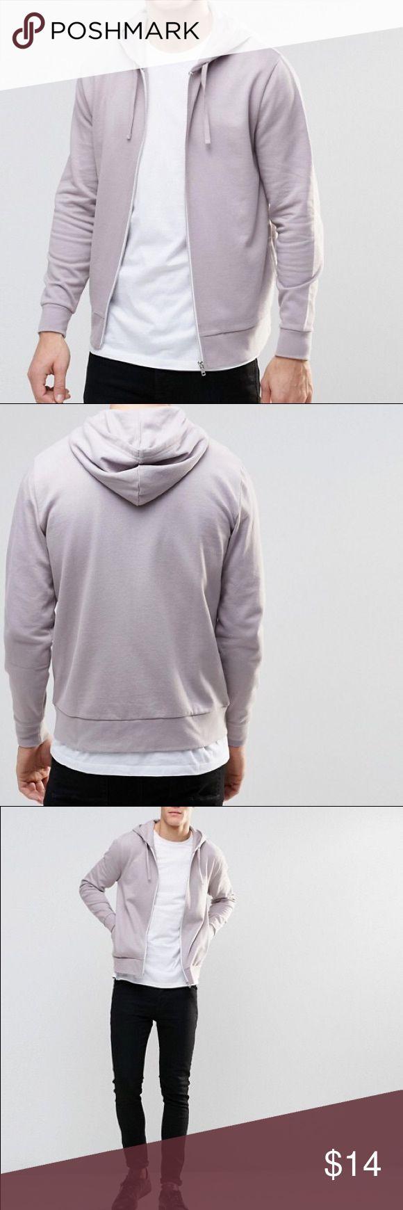 Asos men's light purple hoodie Good condition. Soft but a bit worn. Make an offer~ ASOS Shirts Sweatshirts & Hoodies