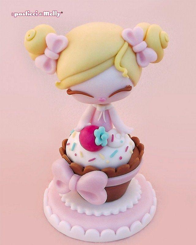 Cutie in a cupcake