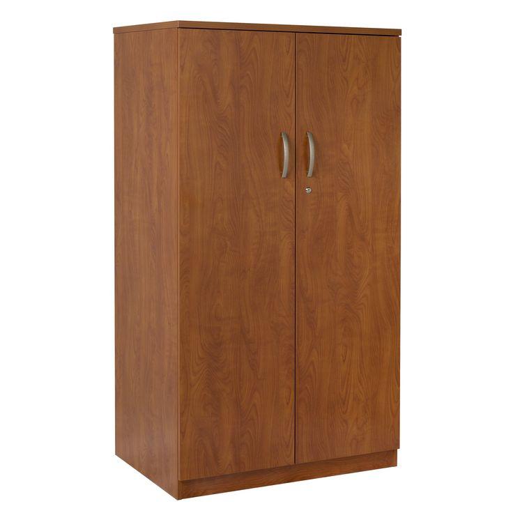 2 Door Storage Cabinet Cherry
