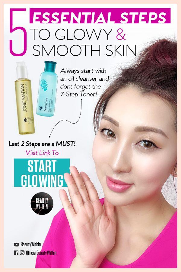 How To Get Glowy Smooth Skin Glass Skin Care Skin Goals Are To Get Smooth Glowy Dewy And Glass Skin What Is Glass Skin It Glass Skin Smooth Skin Skin