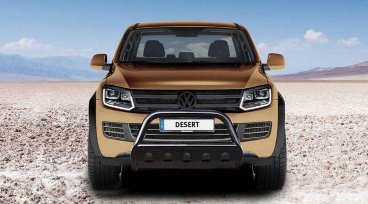 Немцы прокачали Volkswagen Amarok