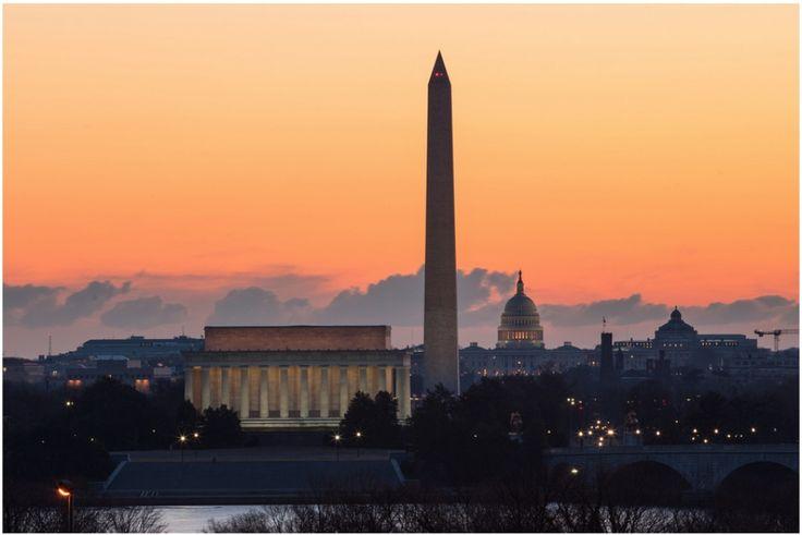 Мемориал Линкольна и Отражающий бассейн, Вашингтон, округ Колумбия