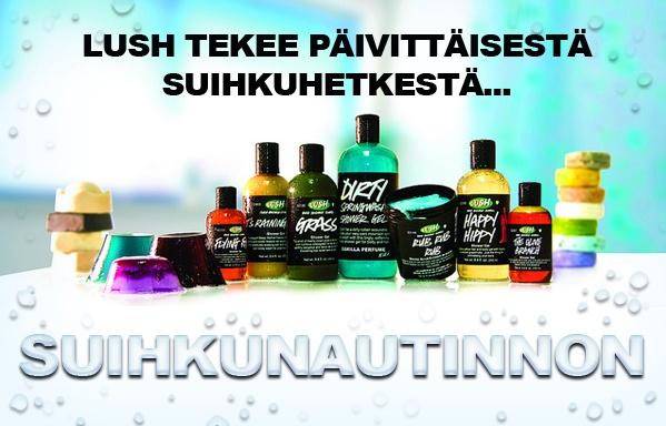 Lush -tuotteet, KAIKKI ON MIELEEN!