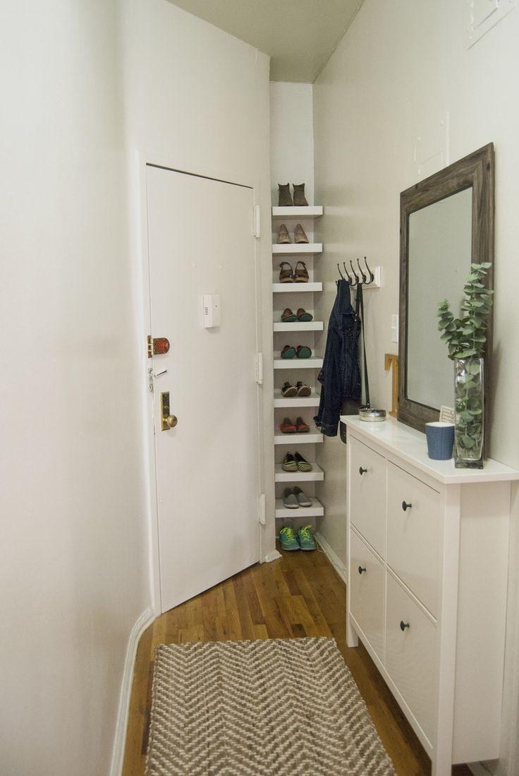 best 25 narrow entryway ideas on pinterest narrow hallway decorating hallway ideas and. Black Bedroom Furniture Sets. Home Design Ideas