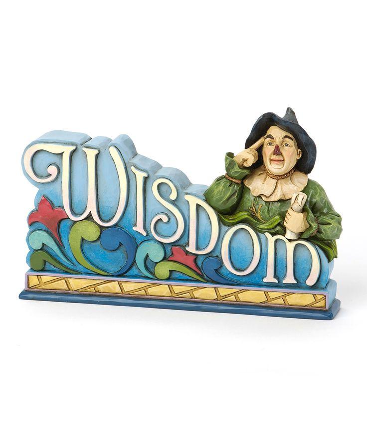 The Wizard of Oz 'Wisdom' Plaque