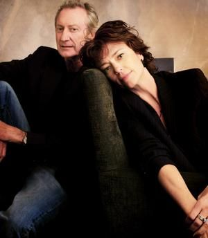 Bryan Brown and Rachel Ward married since 1983.