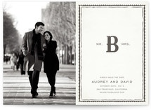 Doesn't this Save-the-Date just say Winter Wedding to you??