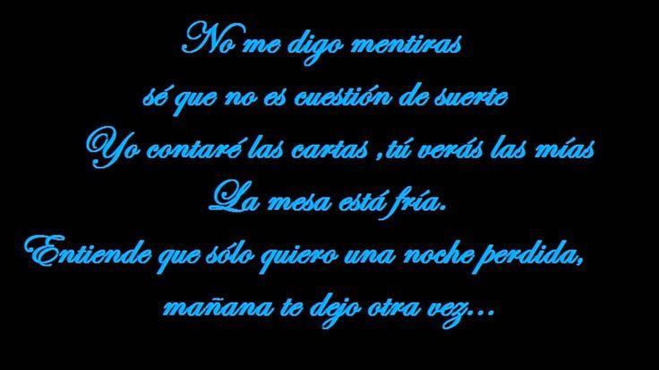 Mi nuevo vicio (Letra) - Paulina Rubio ft Morat