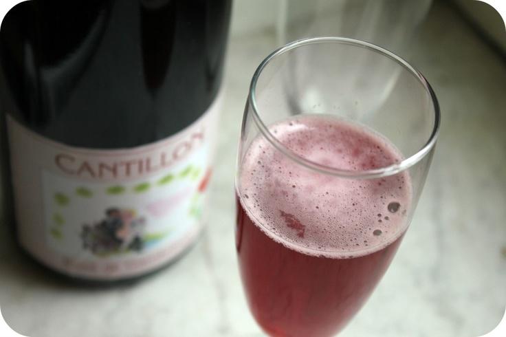 Rosé de Gambrinus, a raspberry beer from Cantillon in Brussels, Belgium