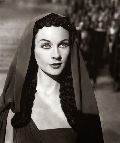"""Vintage Glamour Girls: Vivien Leigh in """" Caesar & Cleopatra """""""