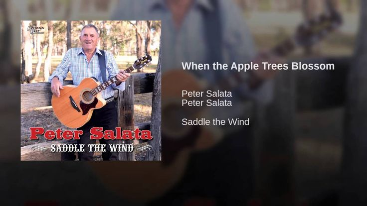 When the Apple Trees Blossom  My Uncle Peter sings about the Apple Blossom trees I remember when I was a kid