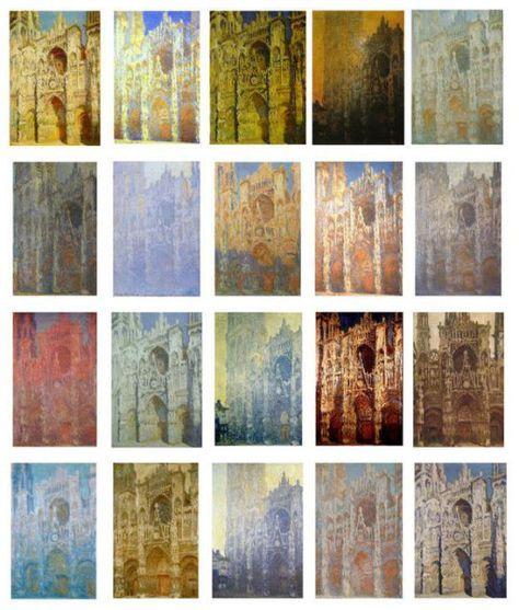 La cathédrale de Rouen (série) - Claude Monet