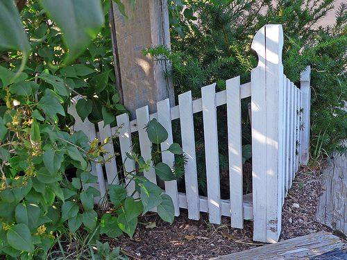 Small Garden Fence Ideas adorable and affordable diy garden fence with a functional gate step by step instructions with Find This Pin And More On Small Garden Fence Ideas