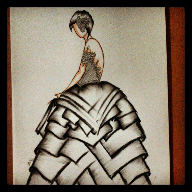 Fashion illustration!