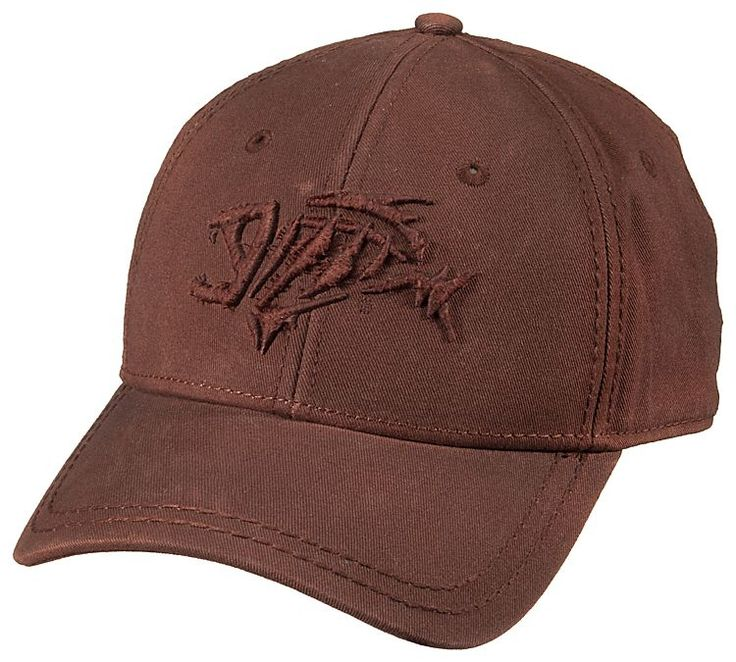same color, thick embroidery logo (ugly hat color though ...