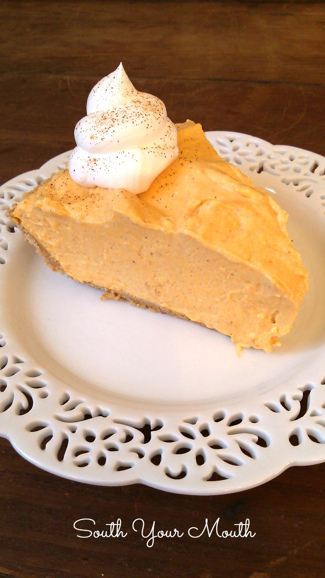 No-Bake Pumpkin Cheesecake made with cream cheese and pumpkin. This is a great…