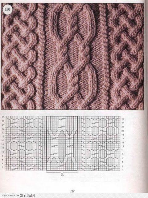 Kira knitting: Knitted pattern no. 48