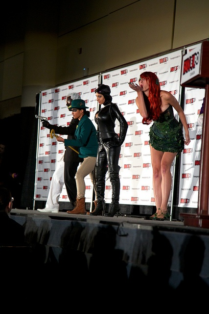 Arkham, including Catwoman, Poison Ivy - Fan Expo Masquerade 2012 12 by MikeyGorman, via Flickr