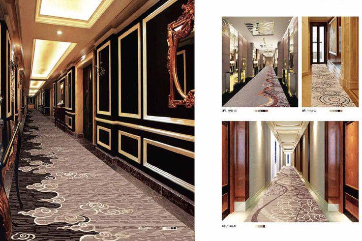 china 3.66m width patterns machine made hotel corridor carpet