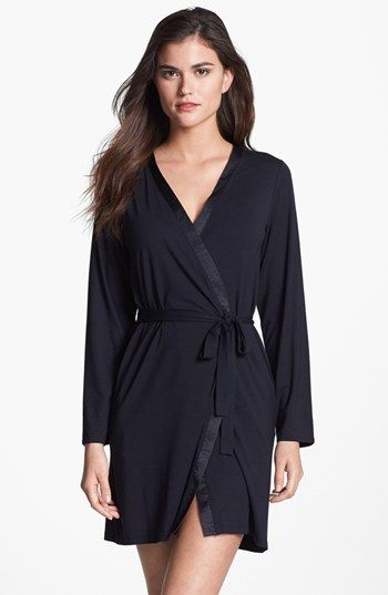 Calvin Klein 'Essentials' Short Robe | Nordstrom 75