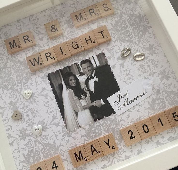 Wooden Tiles lsquo Scrabble Style rsquo Frame Frame measures 25cm x 25cm and is available in black or white Any colour background available and