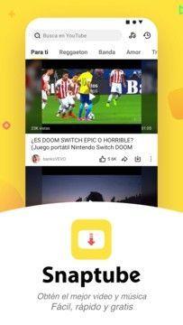 Download Snaptube 4 61 0 4611310 Youtube Facebook Instagram Download Video Music Video Downloader App Video App Download Video