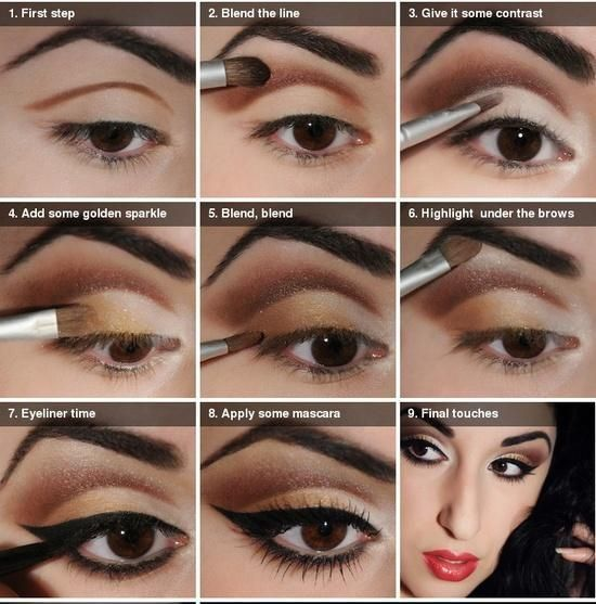 20 TUTORIALS FOR SMOKEY EYES